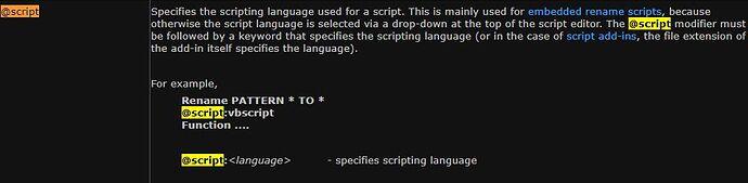 Dopus Docs Command Modifier - script