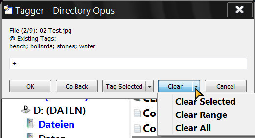 Tagger - Buttons/Scripts - Directory Opus Resource Centre