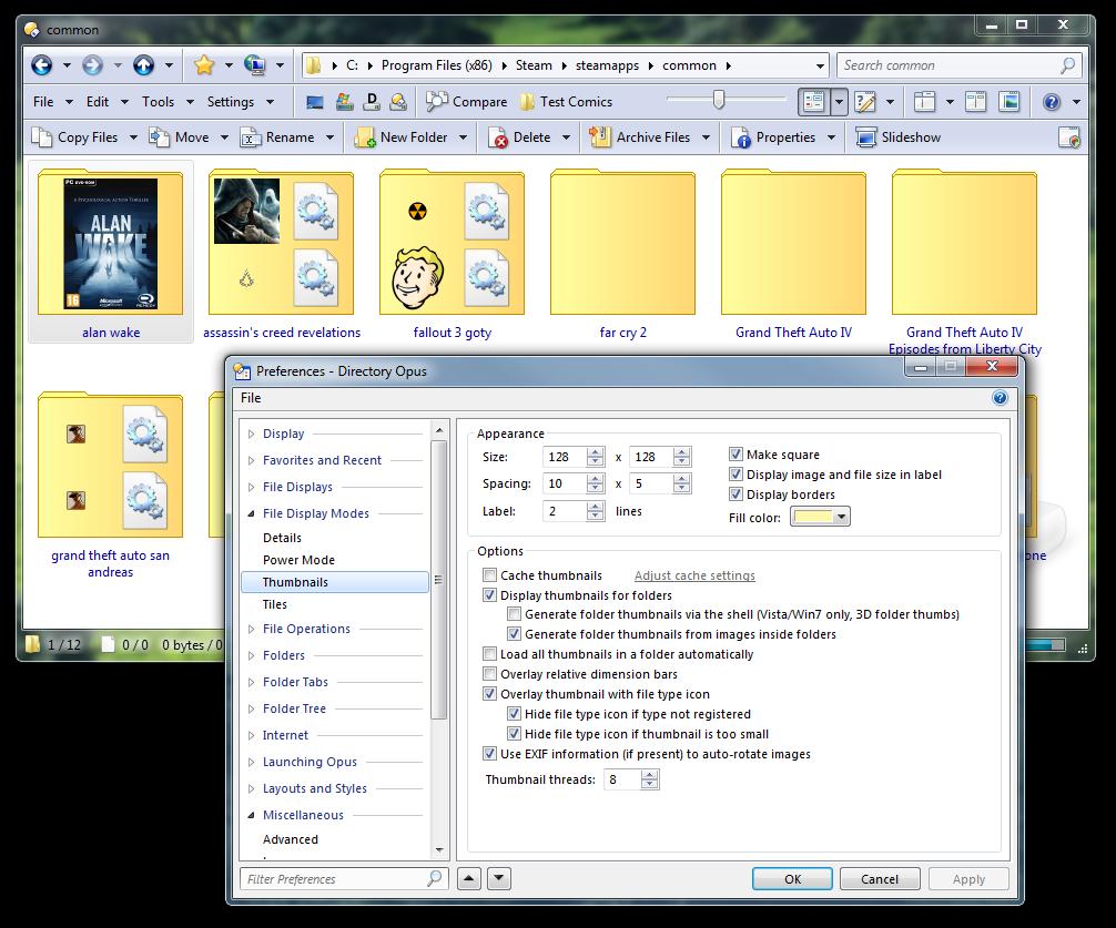 Folder jpg not being used for full folder thumbnail - Help & Support