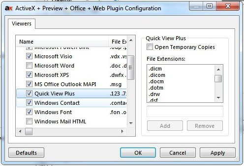 Quick View Plus - Viewer/VFS Plugins - Directory Opus