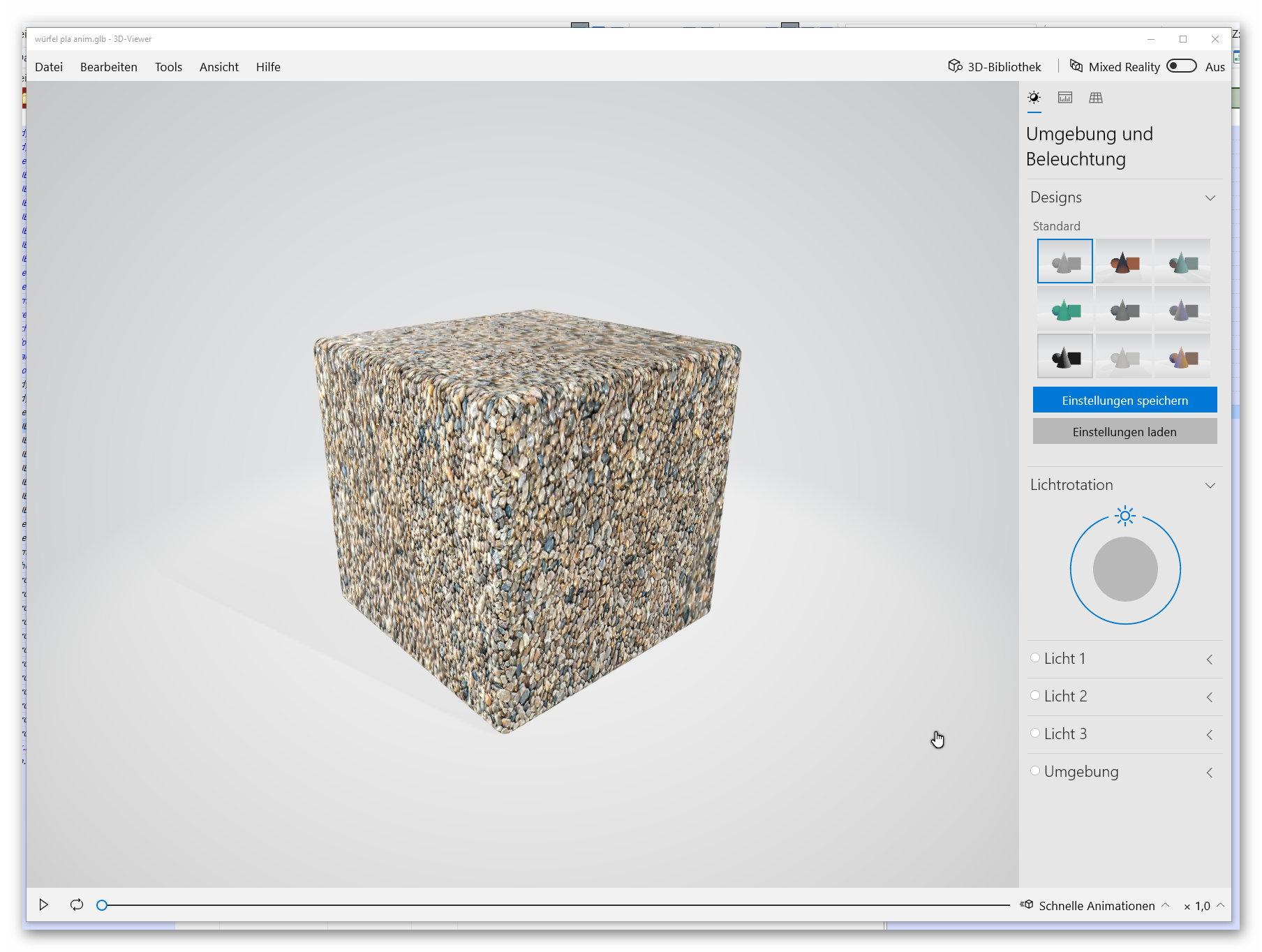 3D Object preview (3mf, fbx, glb, gltf, obj, ply, stl) - Viewer/VFS