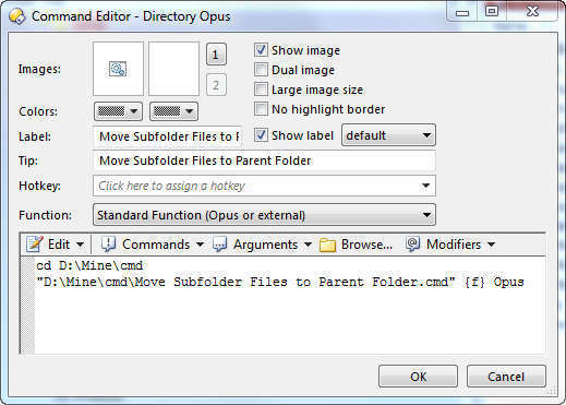 How to remove subfolder and keep files - Help & Support