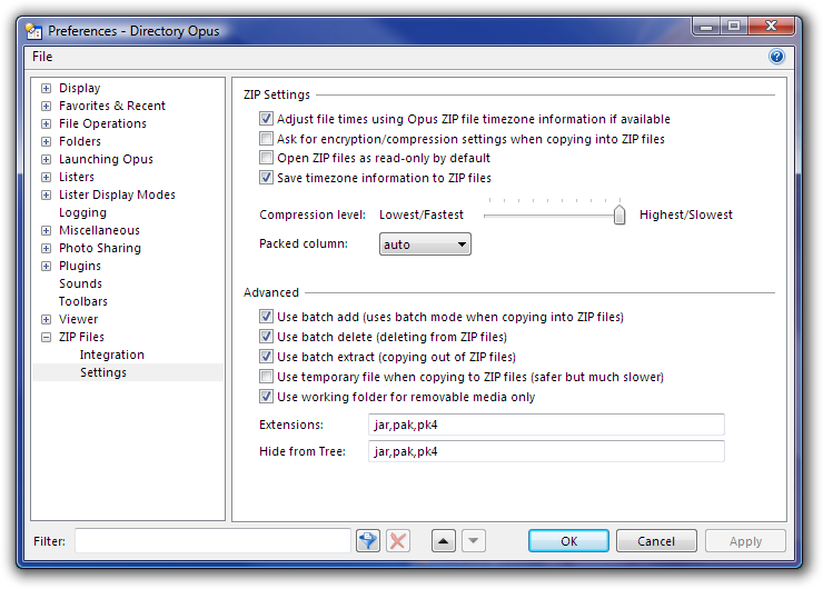 Bug while creating ZIP files - Help & Support - Directory