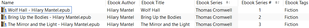 ebook columns
