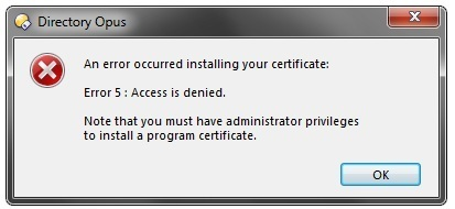 Installing certificate on portable version - Help & Support