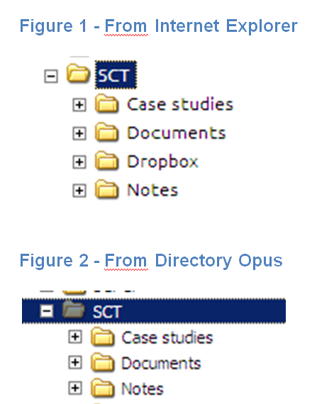 Symbolic Link Not Showing Up Help Support Directory Opus